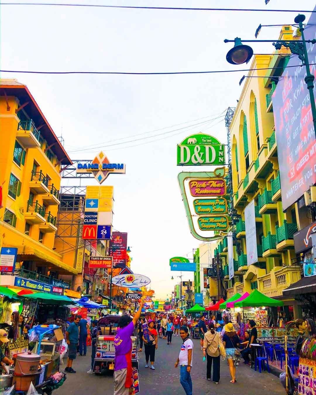 Tempat Belanja di Bangkok