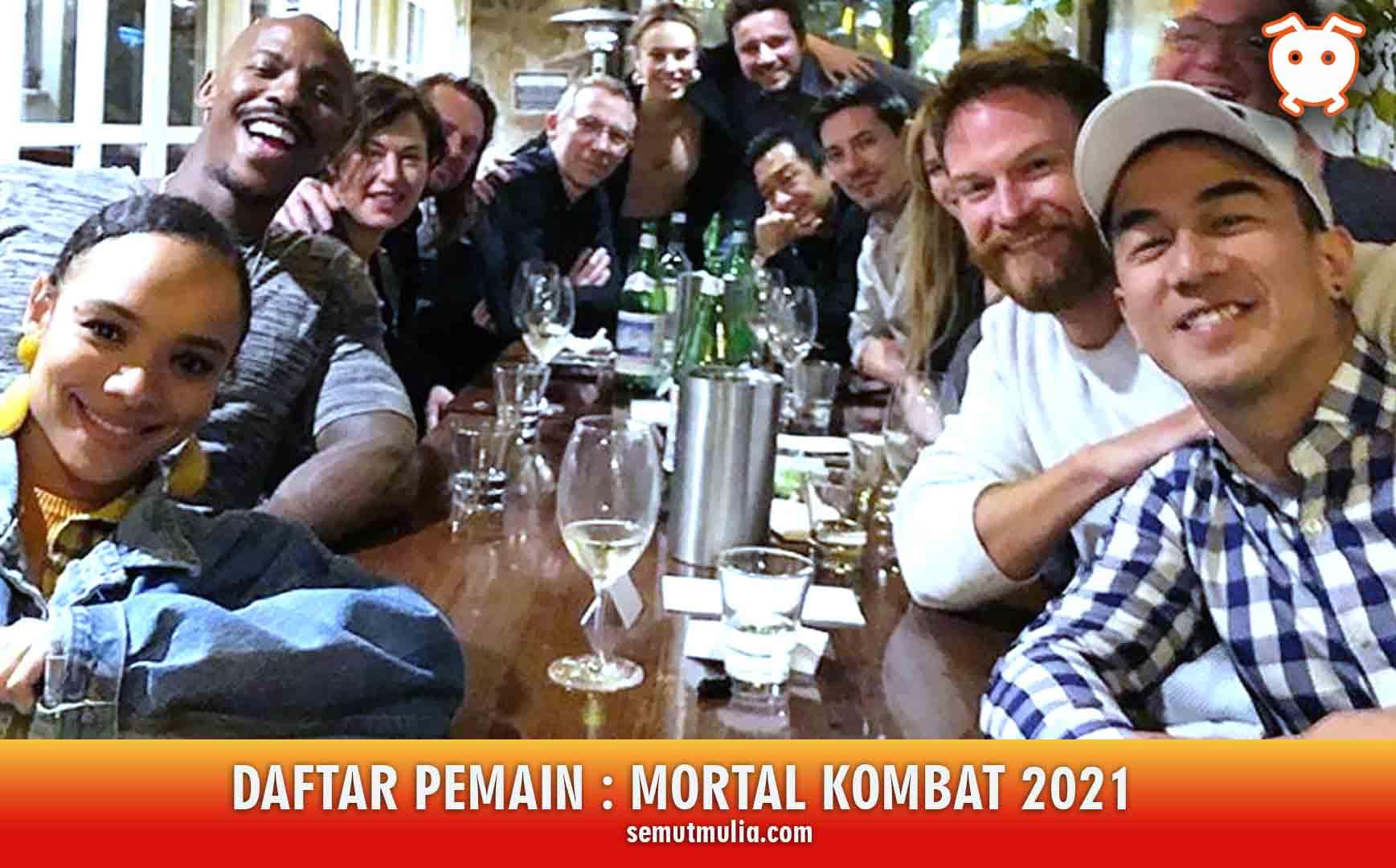 Daftar Pemain Mortal Kombat 2021