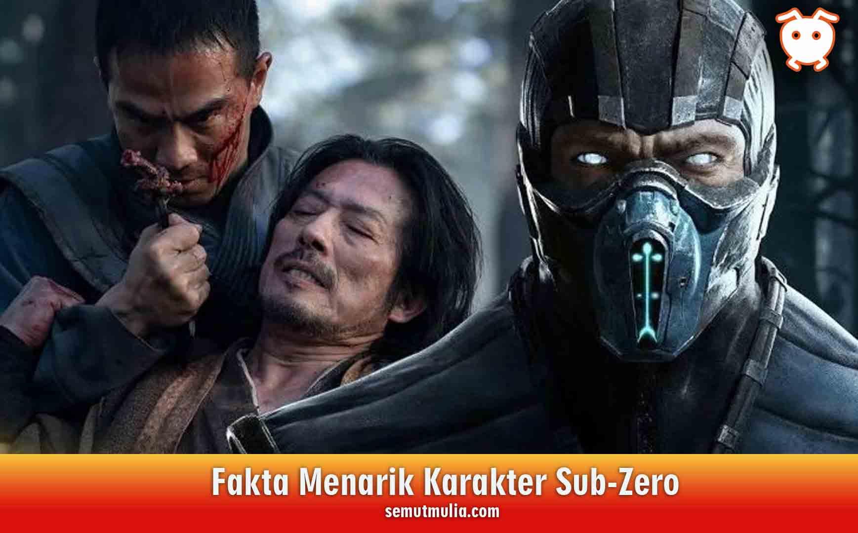Fakta Menarik Karakter Sub-Zero