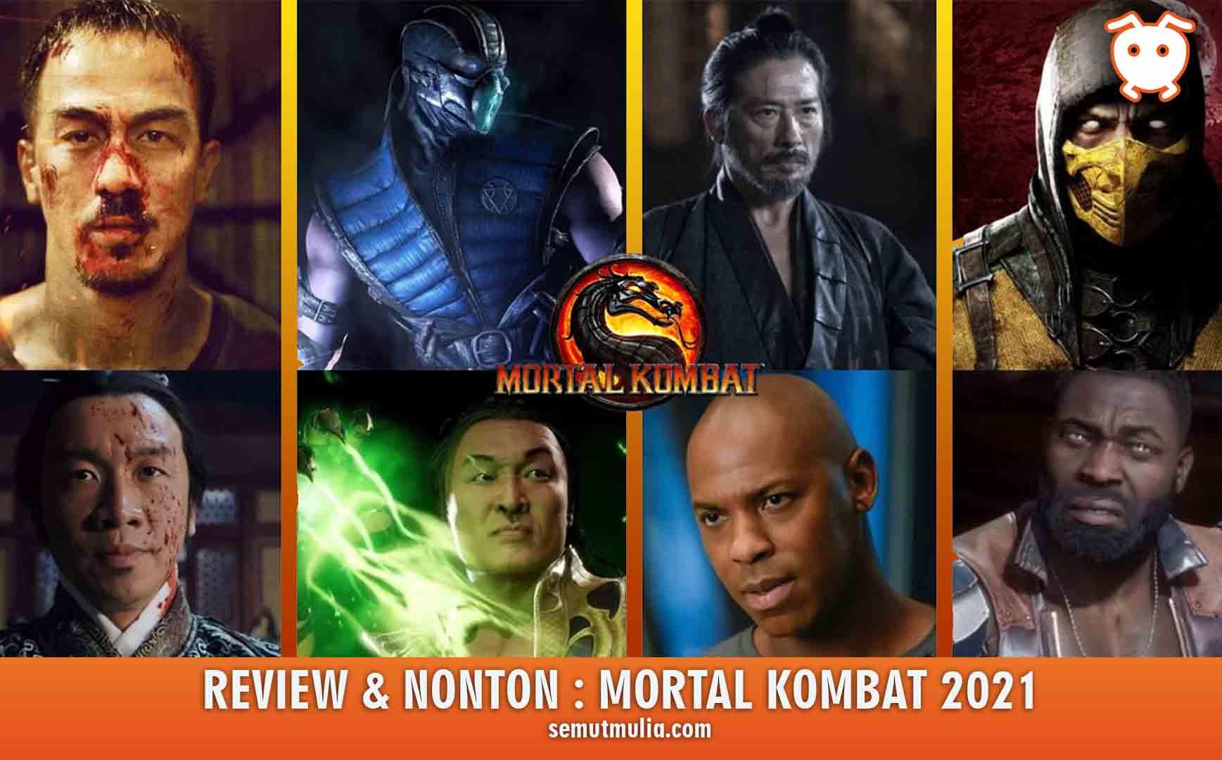 Review dan Nonton Mortal Kombat 2021